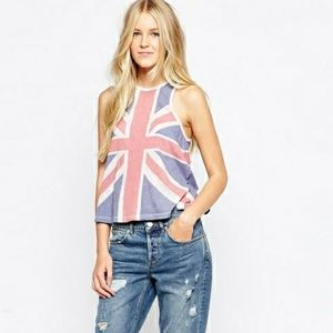 Wildfox This is England Tank Top